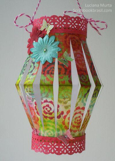 Luciana Murta | Decoração de festas: Lanternas de papel