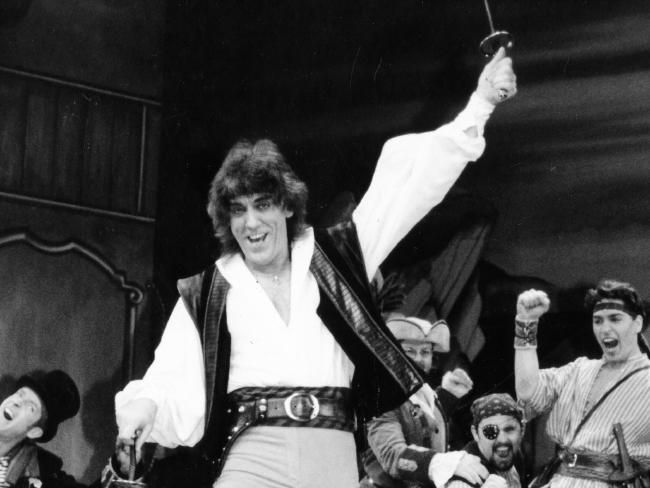 Jon English in one of his best known roles in 'Pirates of Penzance'. Picture: Leon Mead