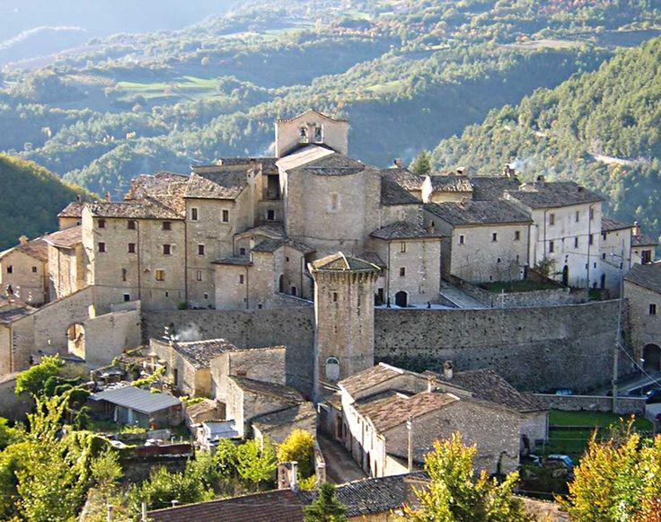 Vallo di Nera. Uno dei Borghi più belli d'Italia