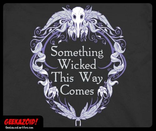 Something wicked this way comes essay