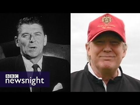 How does Donald (Trump) compare to Ronald (Reagan)? - BBC Newsnight - YouTube