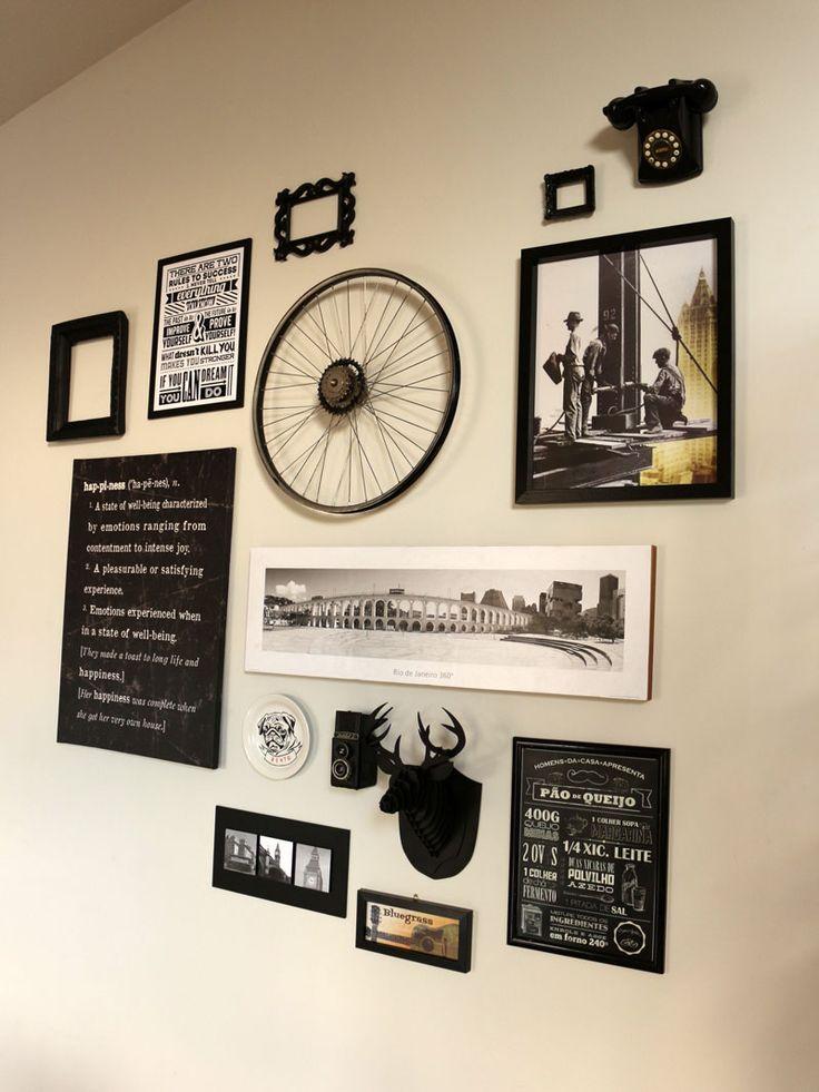 Aprenda a fazer uma composição na parede e deixe seu casa com cara de galeria de arte.