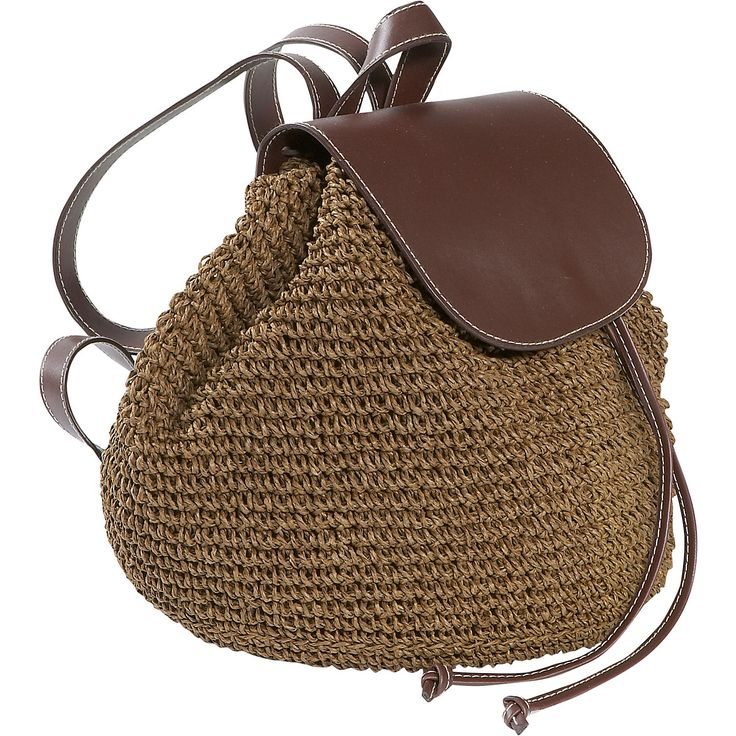 Crochet Toyo Backpack - straw bag - Cappelli