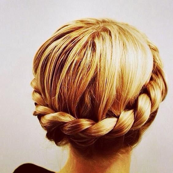 Twisted Braid Updo - Hairstyles How To