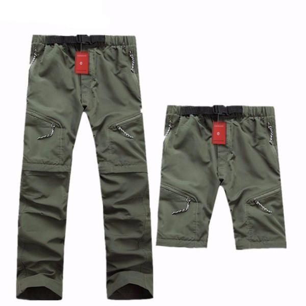 New Hiking Pants With Zip Off Legs - Great For All Seasons...    Sport Type: Camping & Hiking   Gender: Men   Material: Nylon   Material Technology: POWER DRY   Closure Type: Zipper Fly   Color: khaki, gray,black,army green   Size:S.M,L,XL,XXL,XXXL   Occasion: Outdoors   Season: Summer,Spring,Autumn   Weight: About 300g   Waist: Adjustable,A little elastic design   Material: 100% Nylon   Special Feature: Removable to Short Pants. #Hikingpants #Camping #Hiking