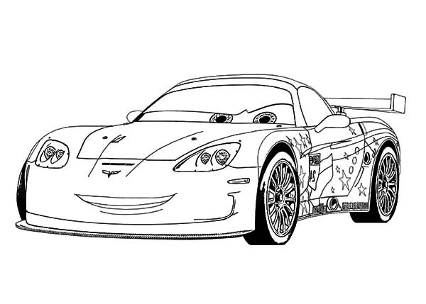 Corvette Cars Jeff Corvette Cars Coloring Pages