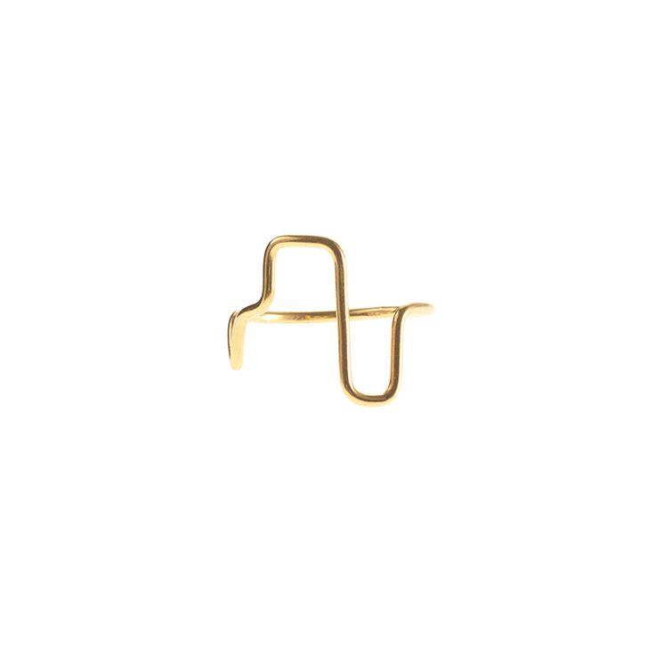 SKYLINE / RING / GOLD www.maleneglintborg.com