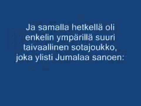 Jouluevankeliumi-animaatio.wmv - YouTube