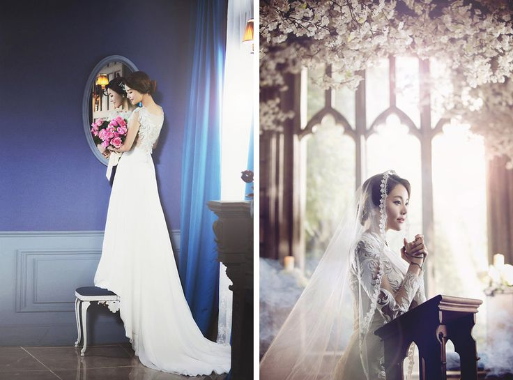 Korean Studio Pre-Wedding Photography: 2016 Romantic Vintage Collection  by Bong Studio on OneThreeOneFour 24