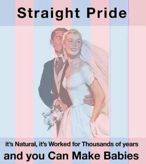 Straight Pride!
