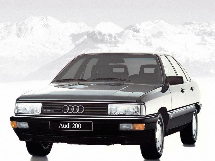 Audi 200 quattro 1983–1987 wallpaper