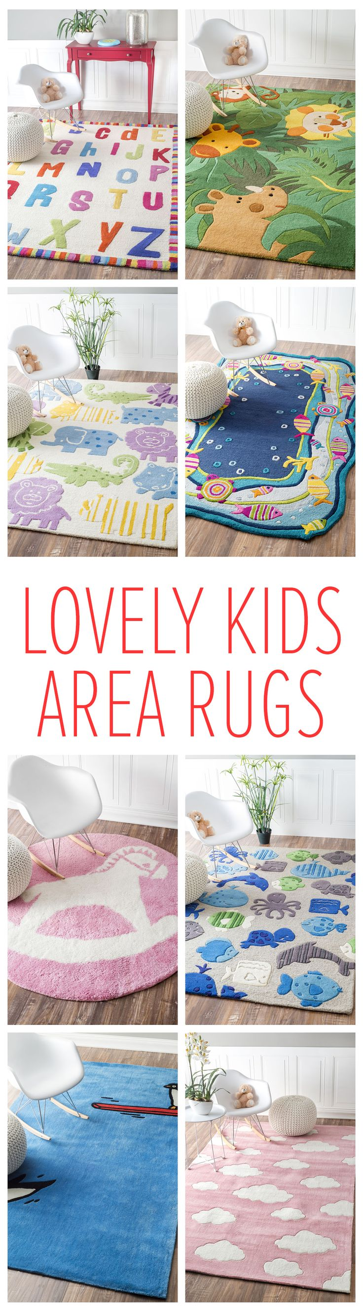 You always have to do it for the kids! Rugs USA has a large selection of decorative rugs that is perfect for any theme! Visit RugsUSA.com to see more affordable options with savings of up to 80% off!