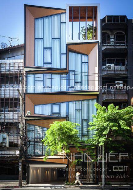 xây dựng nhà phố hiện đại 6x18 4 tầng - 0009