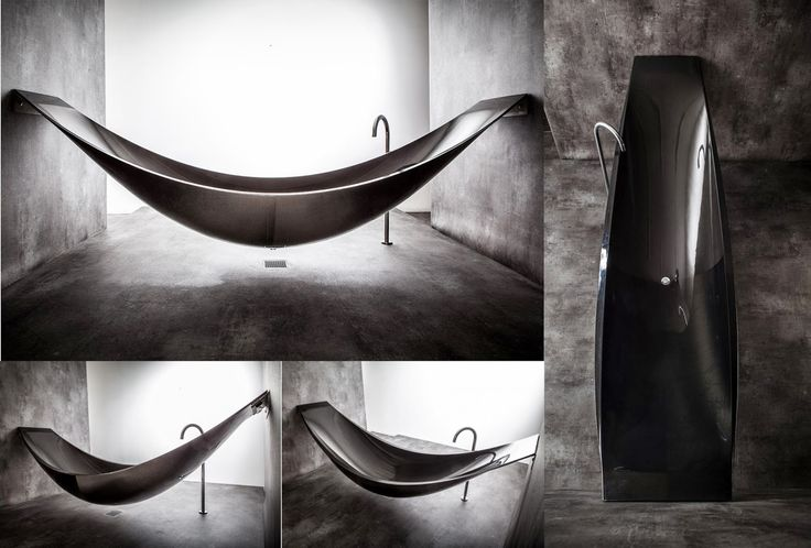 Vessel Hammock Bathtub By Splinter Design In Living