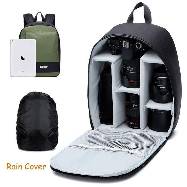 Caden Backpacks Camera Case Shoulders Bags Waterproof - Digital Camera-WoahCool