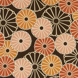 Duralee Parasols fabric. $55 a yard at Velocity. That's crazy expensive, but I love it so.