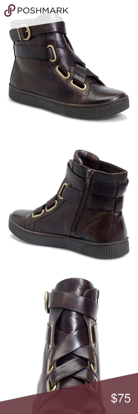Born Sophia Leather high-top sneaker Born Sophia Leather high-top sneaker Born Shoes Sneakers