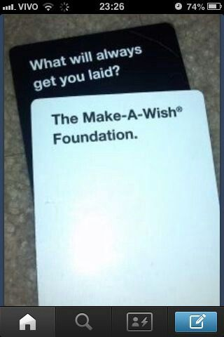 OMG TFiOS and Cards Against Humanity! Yes!!