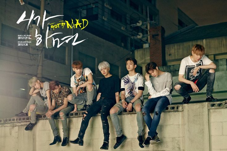 "GOT7 Releases First Teaser Pictures for ""MAD"" Comeback"