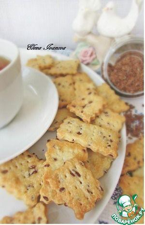Рецепт: Галетное печенье