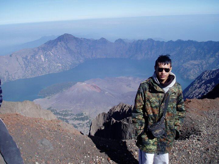 Mt. Rinjani indo