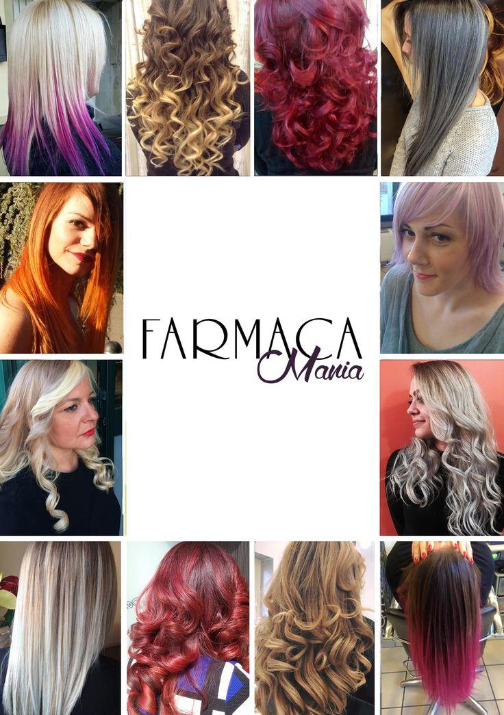 Colore, moda e creatività #Hairstyle #haircolour