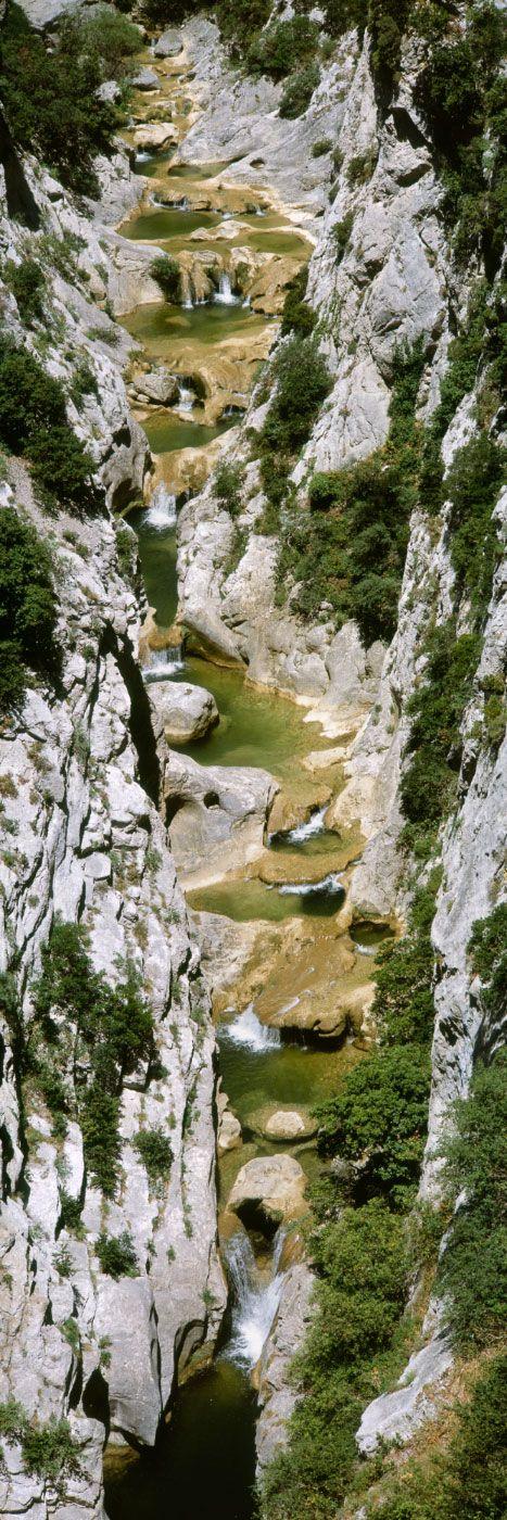 Gorges de Galamus, Corbières (Pyrénées-Orientales), France
