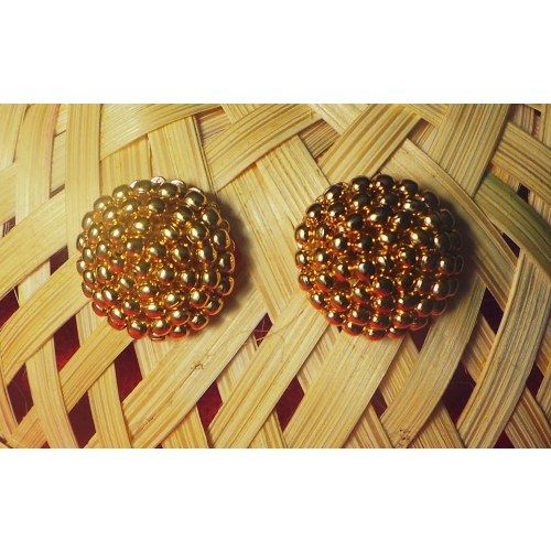 Traditional thushi earrings