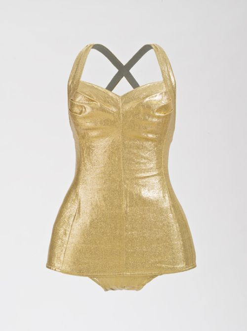 Late 1950s Bathing Suit via The Los Angeles County Museum of Art