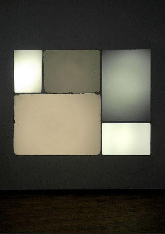 Christoph Meier, Setting#14, 2008 16mm-Projektor, Super-8-Projektor, 3 Diaprojektoren