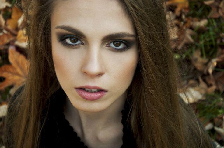 foto <Klaudia Toruń> model <Aleksandra Pieczek> MUA <Klaudia Włodarska>