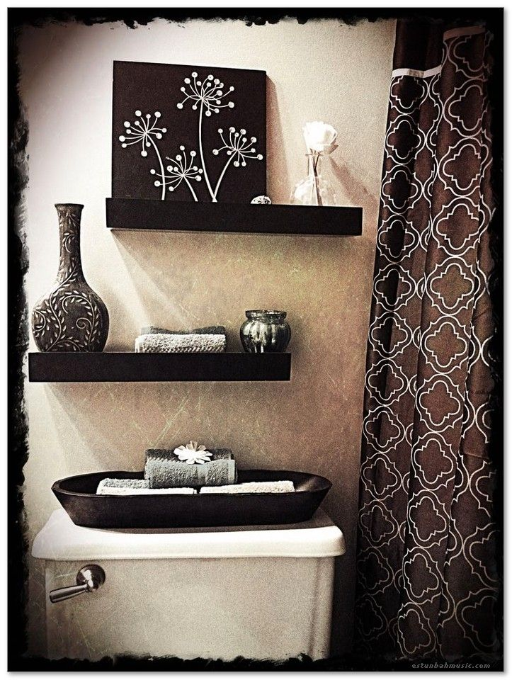 awesome black bathroom decor ideas image 10