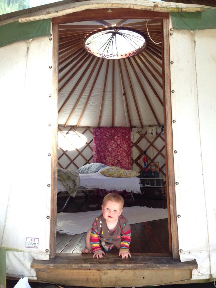 We live in a Mongolian tent now   Lulastic and the hippyshake #yurt #family