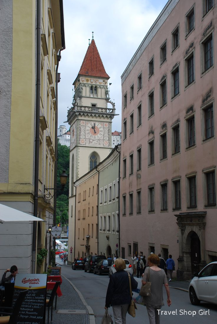 Visiting Passau, Germany on a River Cruise