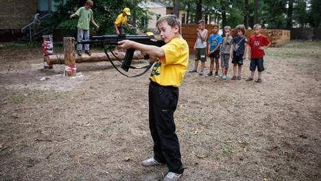 Oekraïens jeugdkamp traint jong vechttalent - Buitenland - TROUW