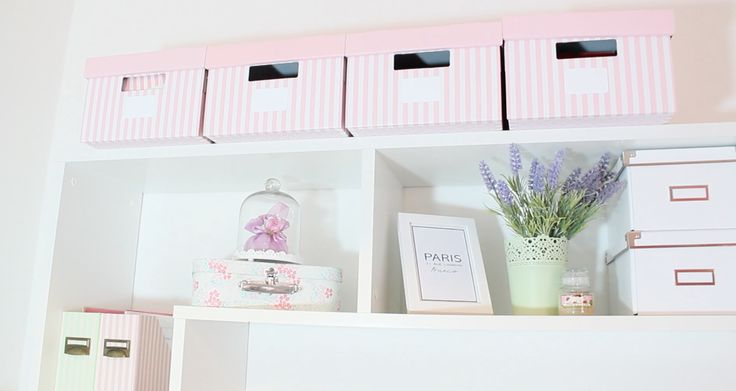 Pastel and pink home decor