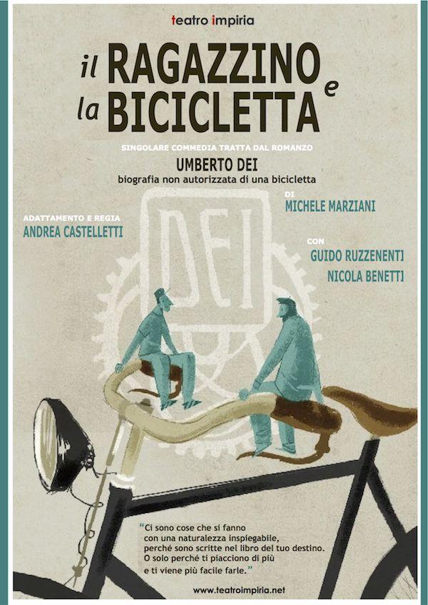 """""""Il ragazzino e la bicicletta"""", Teatro Impiria, Verona - Italy"""