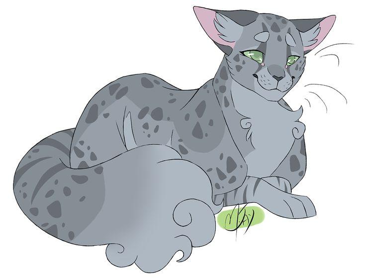 Картинки чернобурки из котов воителей