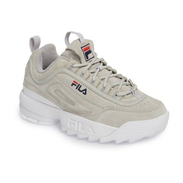 fila shoes blue red and white plaid background border