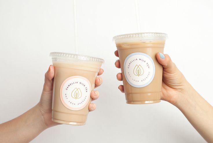 Camellia Milk Tea on Behance