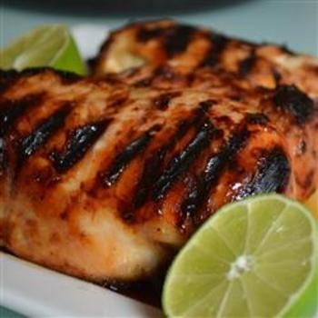 "Unbelievable Chicken - Real name and source is ""Charcoaled Marinated Chicken Breasts"""
