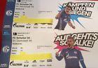 #Ticket  Briefumschlag; Zusätzlich 2 Tickets für Schalke- Darmstadt am 27.11.16 #deutschland