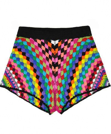 CROCHET FASHION TRENDS exclusive crochet shorts by LecrochetArt