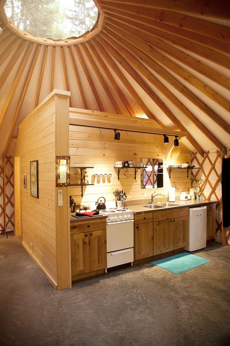 The Yurts A Yurt In Alaska In 2019 Yurt Home Yurt