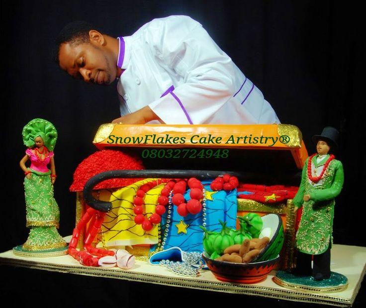 Snow Flakes Artistry, Gâteaux de mariage africains – Nigéria | Je Wanda Magazine