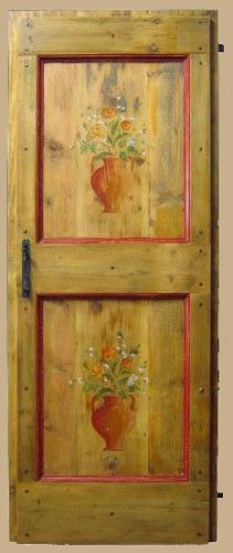 Reproduction of a late 18th century farmhouse door