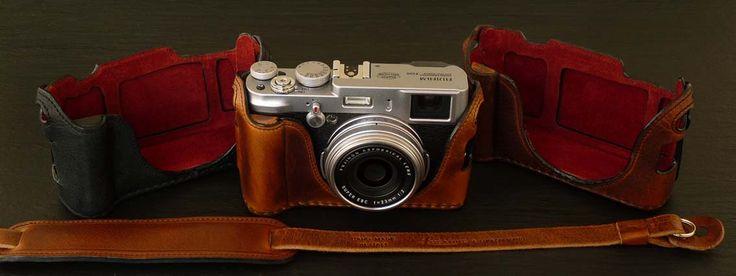 Fuji X100 leather case by Luigi