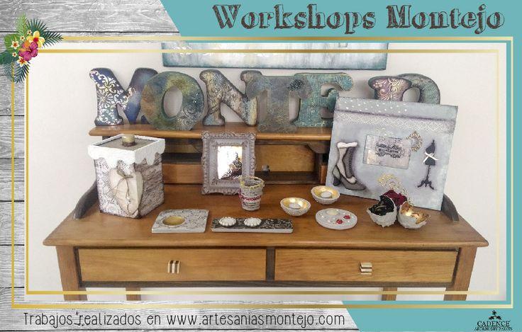 Trabajos CADENCE realizados en Artesanías Montejo #workshop #cadence #artesaniasmontejo www.artesaniasmontejo.com