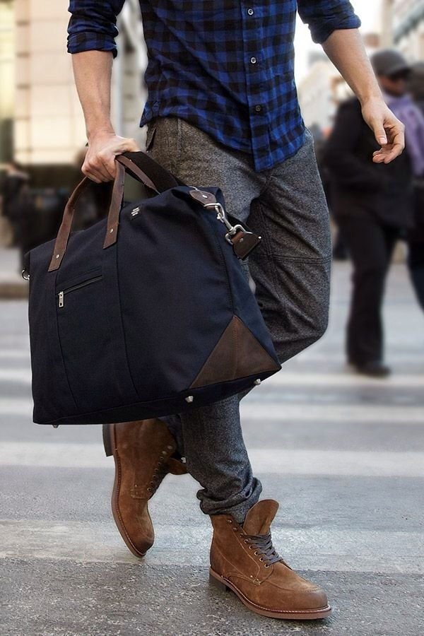 """""""The rugged urbanite"""" #menswear #style #boots #streetstyle (See Rene's """"Bags and Gadget Cases"""" board for some great bags!)"""