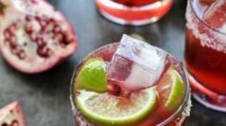 Recette de Candice : Mojito de grenade avec/sans alcool